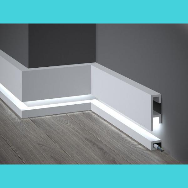 Listwa przypodłogowa LED Mardom Decor QL019+QL021
